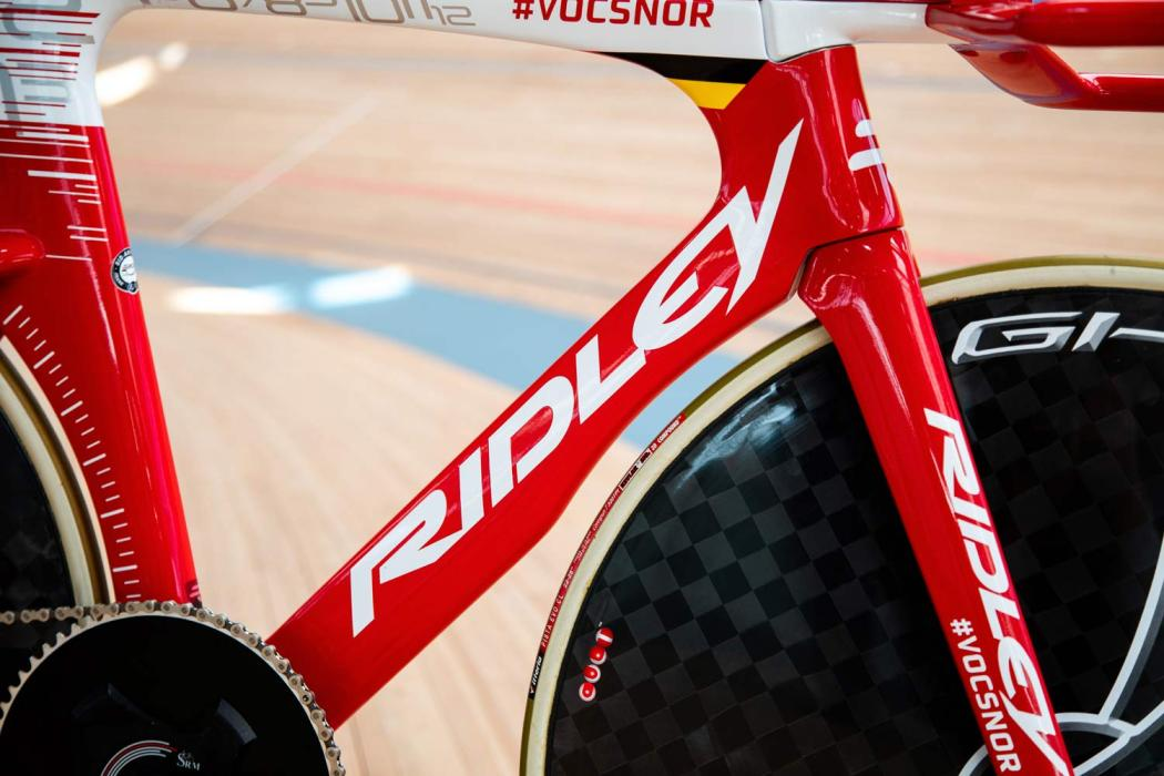 Victor Campenaerts Sets Hour Record on Custom Ridley 6