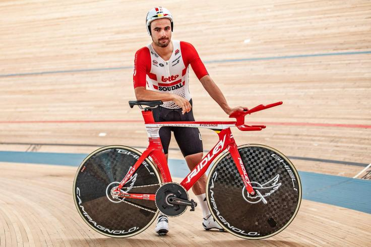 Victor Campenaerts Sets Hour Record on Custom Ridley 5