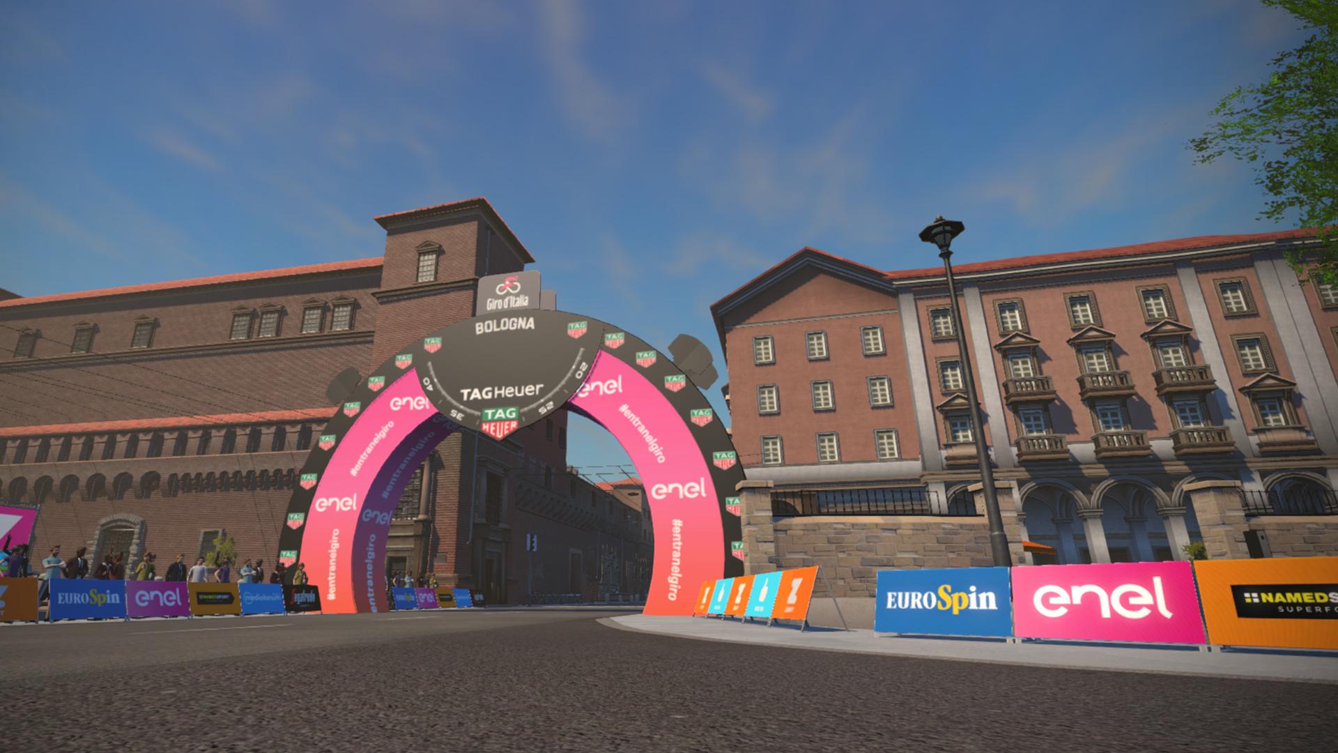 Ride the Giro D'Italia Bologna TT Course on Zwift 2