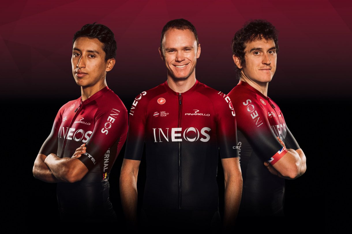 Team Ineos Reveals New Kit 3