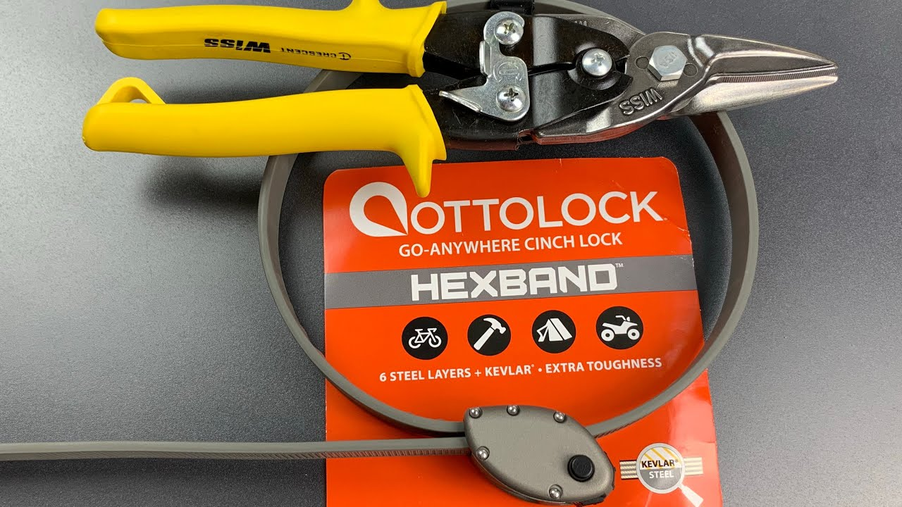 Ottolock's New and Improved Lock Cut in Seconds 13