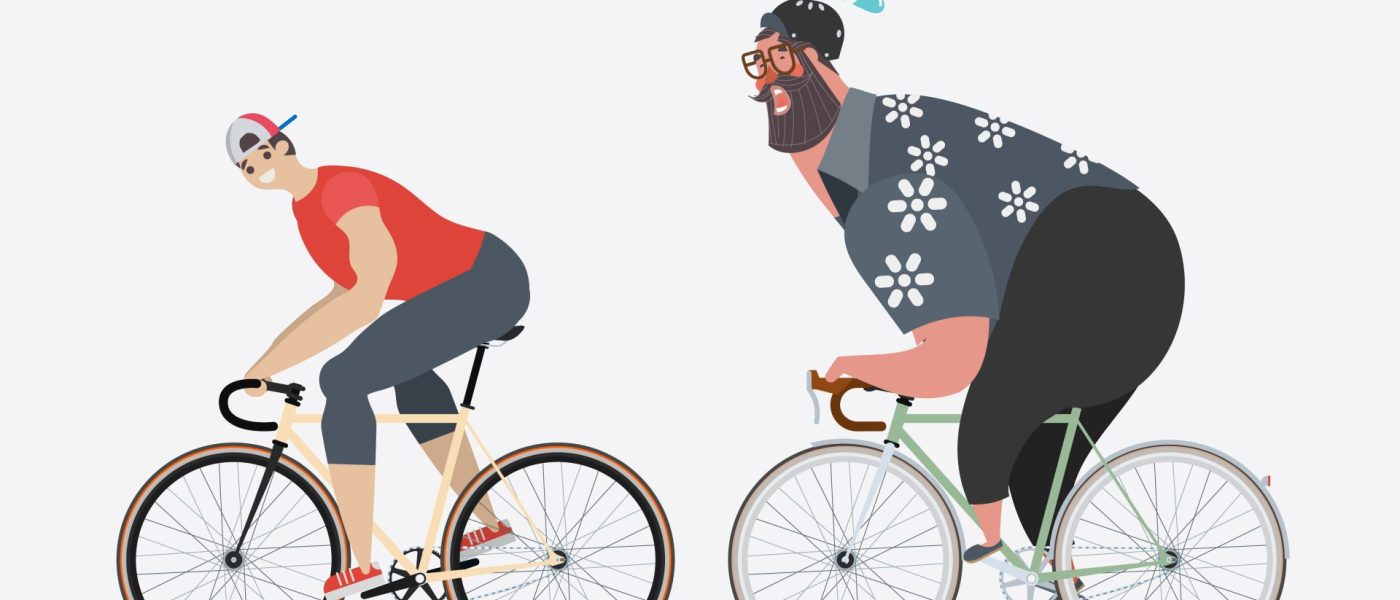 Why You're Cycling More But Not Losing Weight 1