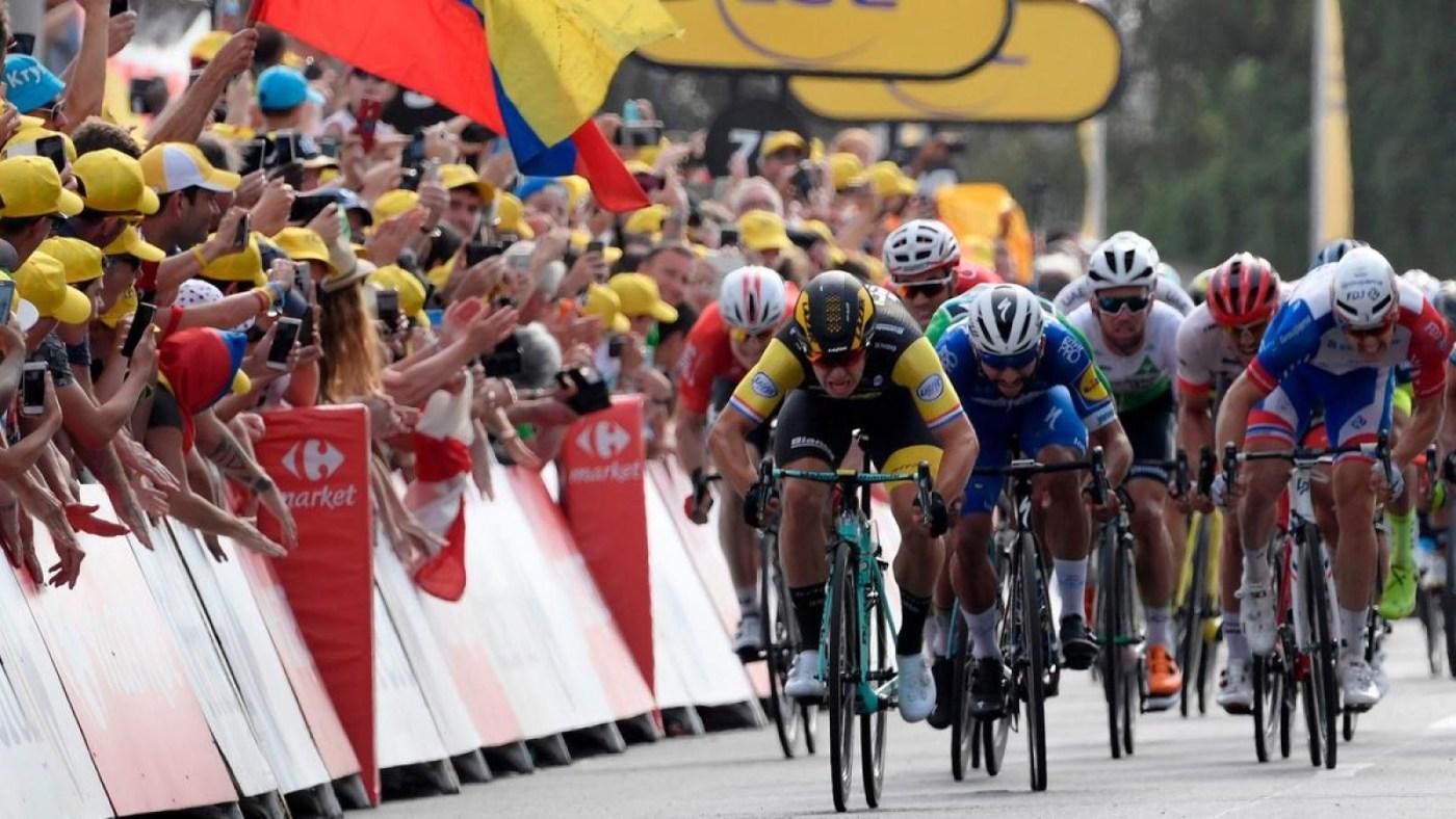 Groenewegen Takes Sprint Win in 2019 Tour de France Stage 7 3