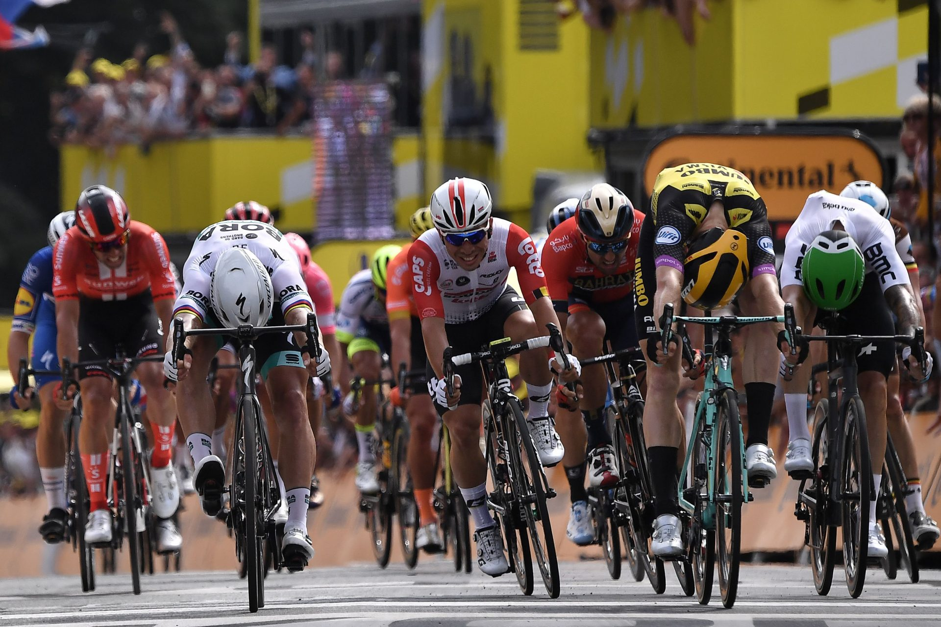 Elia Viviani Sprints to 2019 Tour de France Stage 4 Win 11