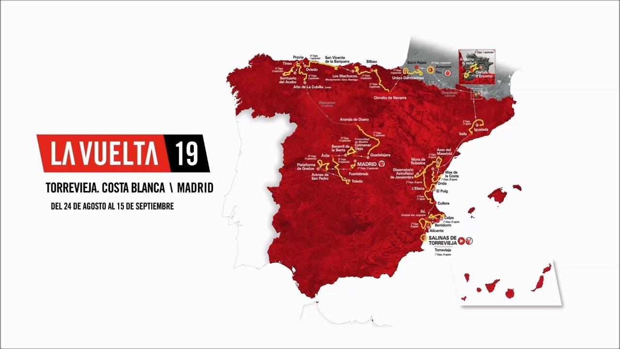 2019 Vuelta a Espana Guide: Route, Stage Previews, Start List & How to Watch 3