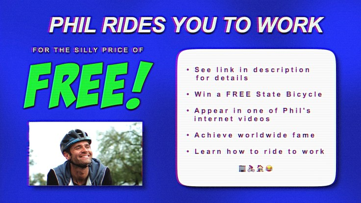 Win Bike from State Bicycle Co. & Ride to Work with Phil Gaimon 3