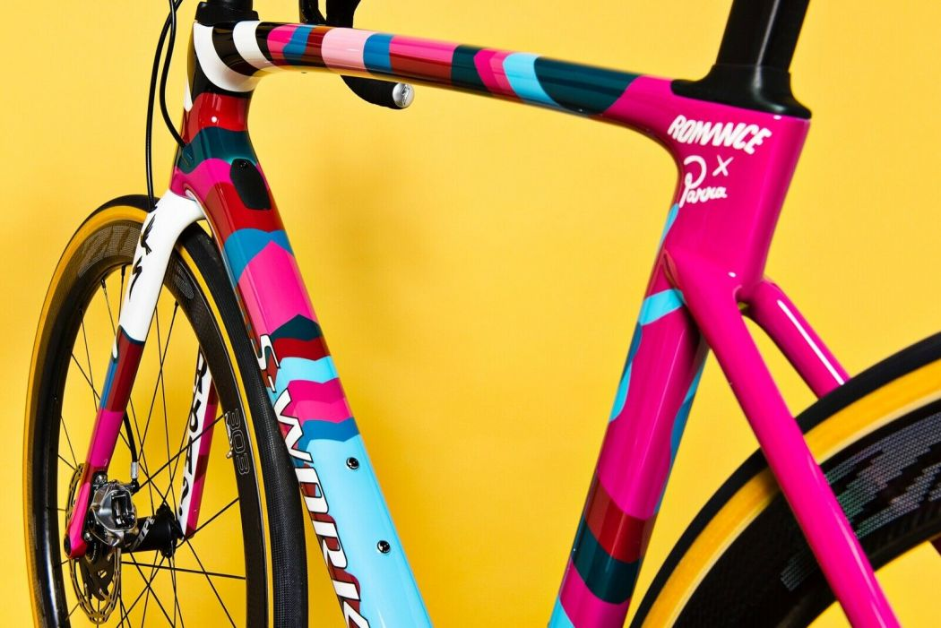 Romance X Parra One-Off Custom S-works Roubaix 3
