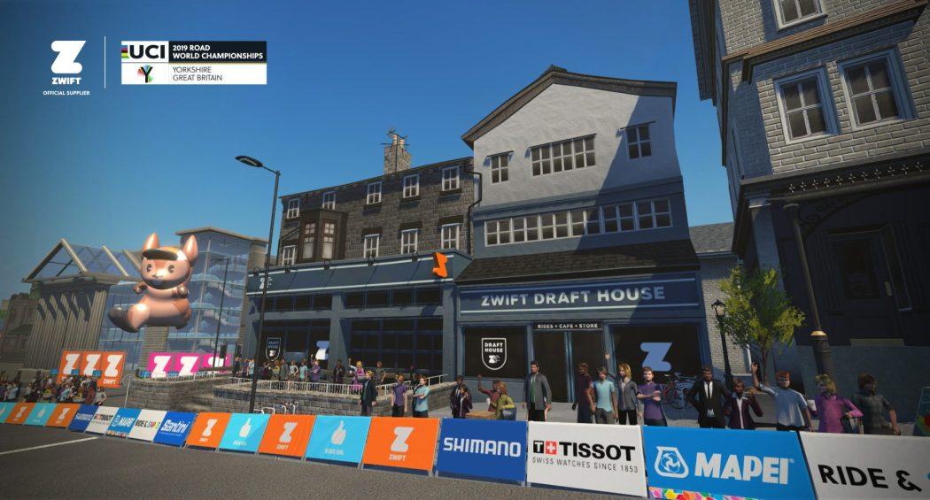 Zwift Launching Virtual Yorkshire World Championships Course 2
