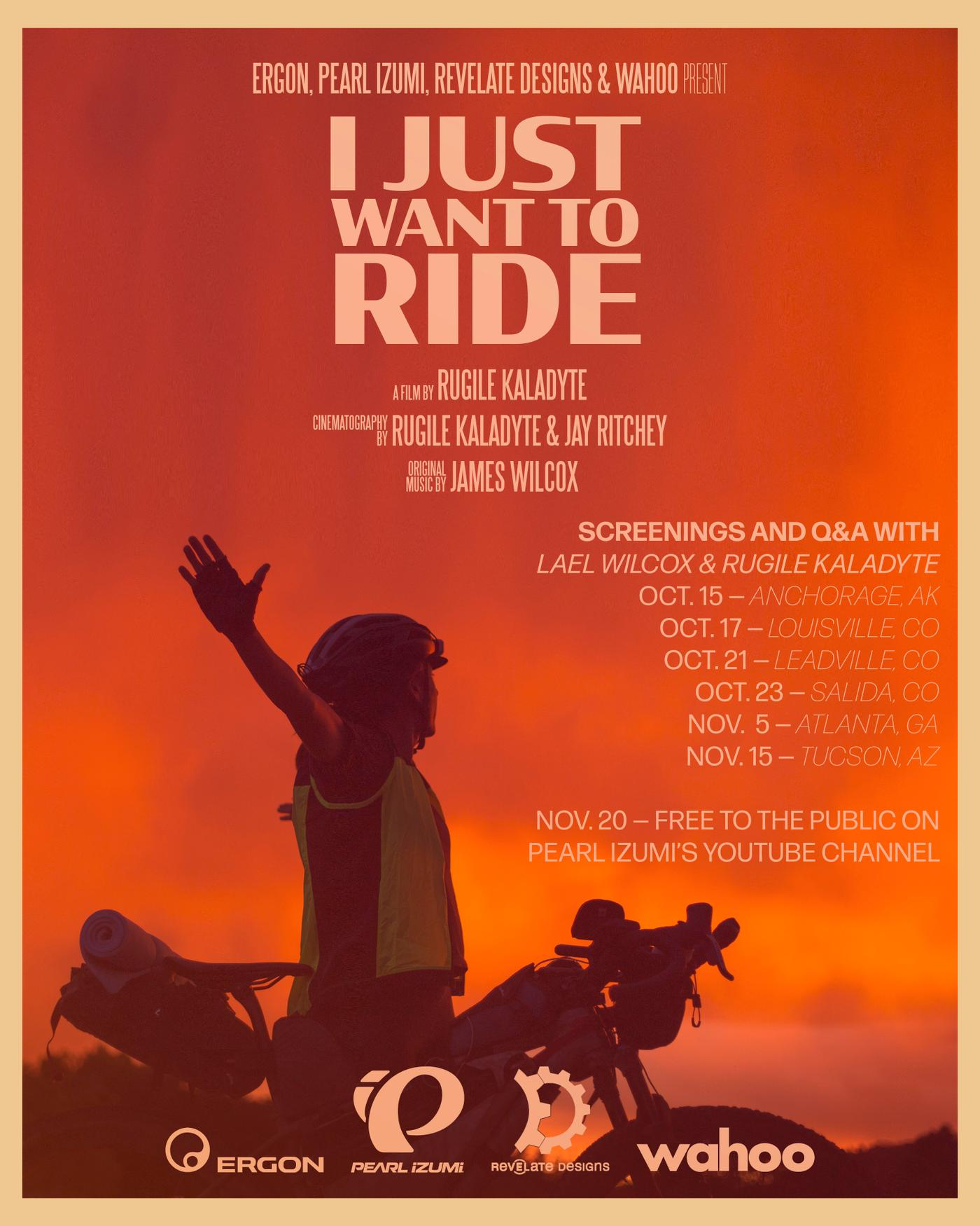 """""""I Just Want to Ride"""" a Film By Rugile Kaladyte 3"""