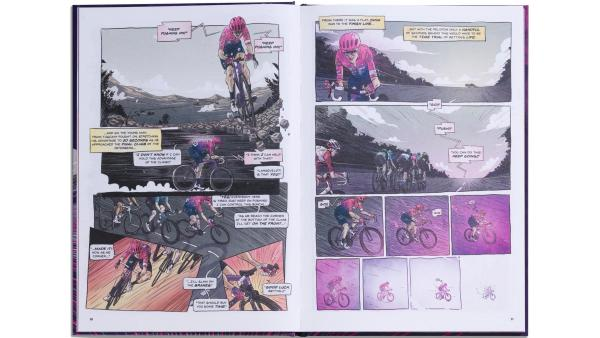 EF Education First Release Comic Book Style 'Gone Racing' Annual 6