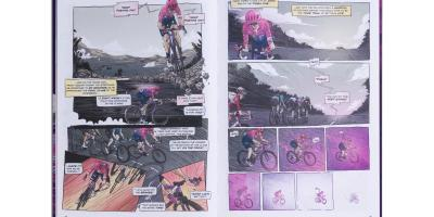 EF Education First Release Comic Book Style 'Gone Racing' Annual 1
