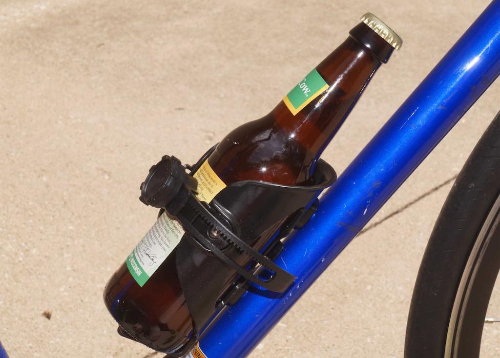 Bikase Justy Adjustable Drink Holder Bottle Cage Justy Adjustable Bk