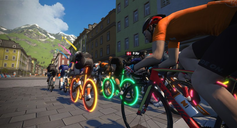 Zwift Partners with Haute Route for three-day Watopia Challenge 1