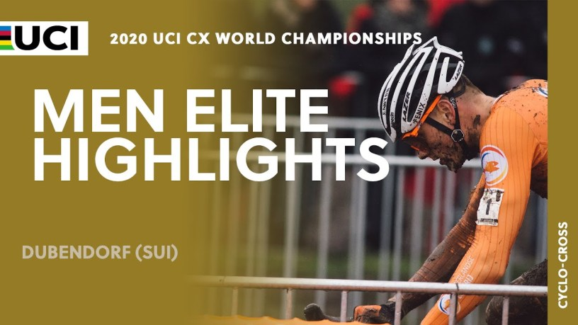 Video: 2020 UCI Cyclo-cross World Championships – MVDP'S Dominant Wire-to-Wire Win