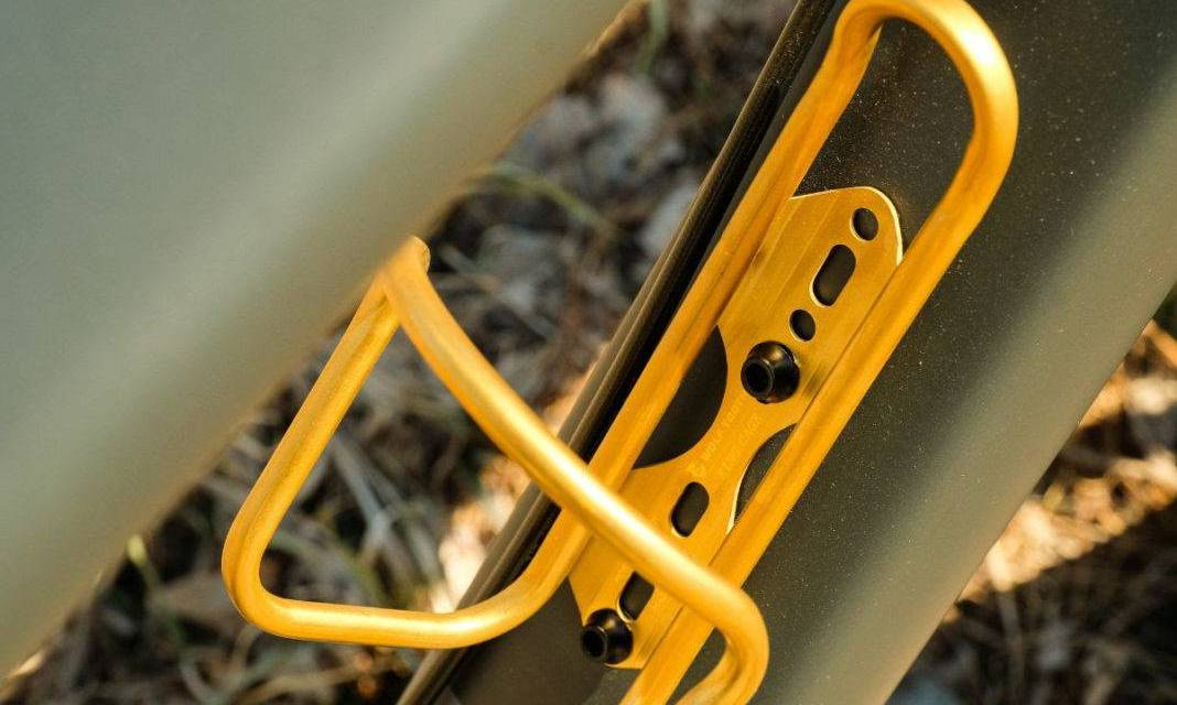 Wolf Tooth Components Morse Cages Available in Limited Edition Gold Finish