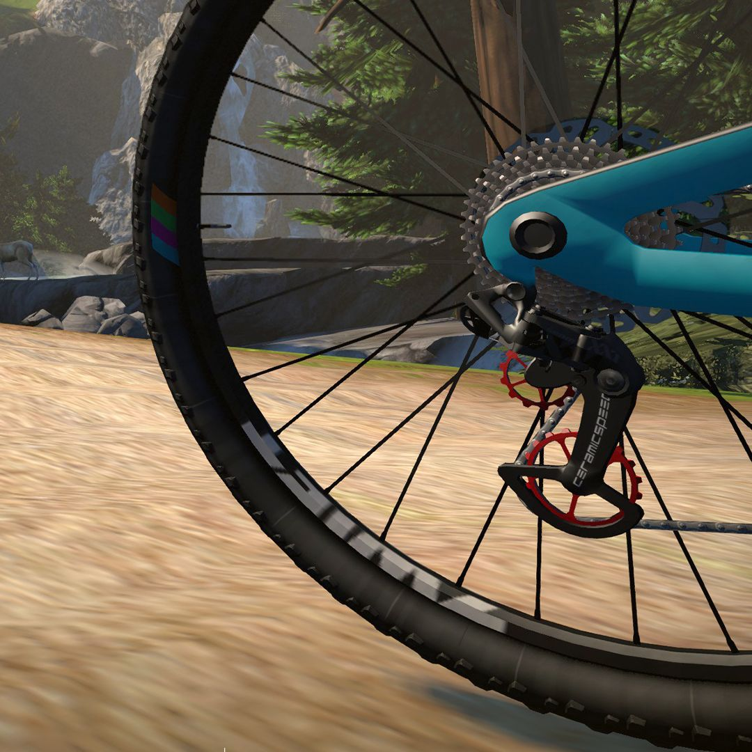 Zwift faster with your own in-game CeramicSpeed OSPW System 1