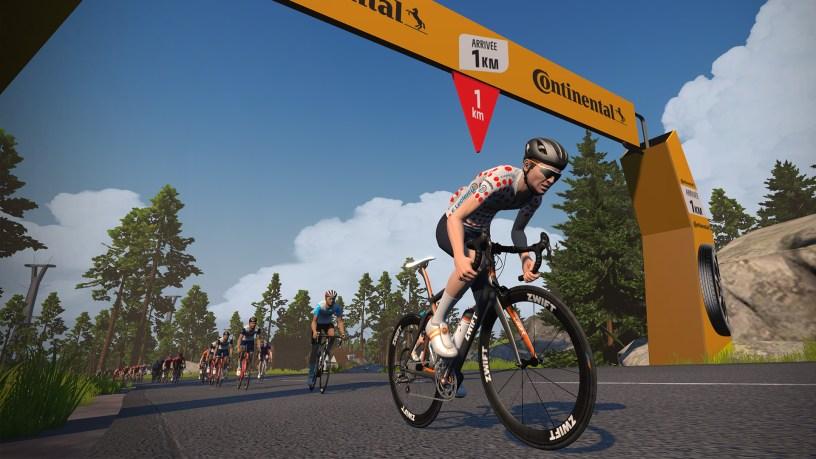 The Tour de France  & L'Étape du Tour Will be on Zwift