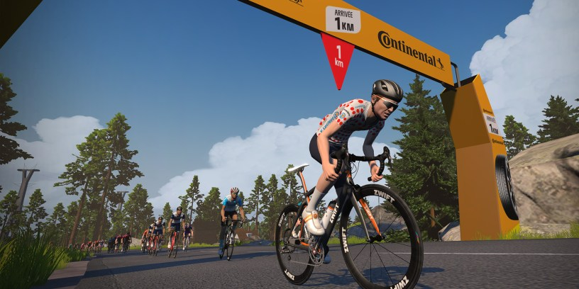 The Tour de France  & L'Étape du Tour Will be on Zwift