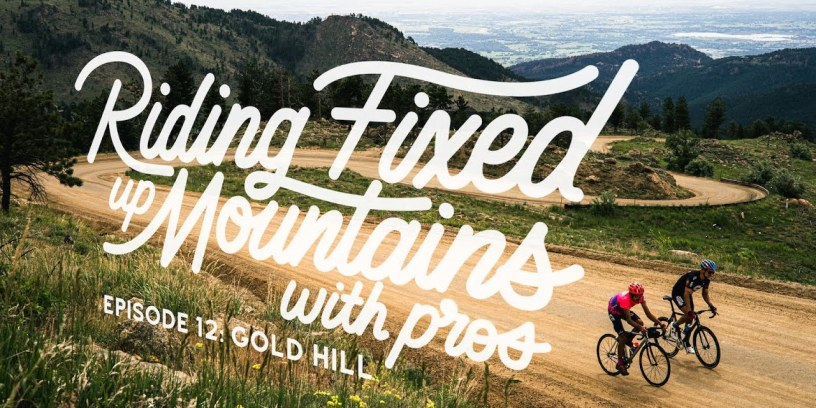 Riding Fixed, Up Mountains, With Pros: Lachlan Morton