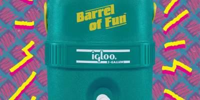 Weekend Randoms: Barrel of Fun, Human Flight & More