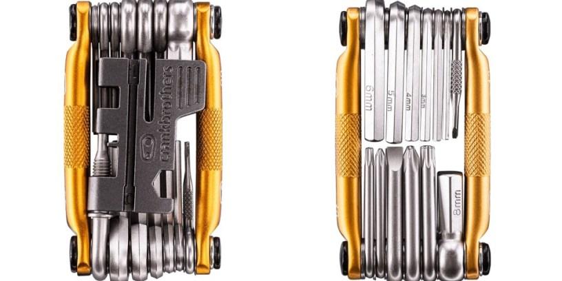 Crankbrothers New M20 & M13 Multi Tools Add Tubeless Repair Capabilities