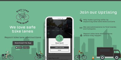 Bike Lane Uprising releases app for reporting bike lane obstructions