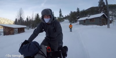 Bikepacking The Kettle Valley Rail Trail in Winter