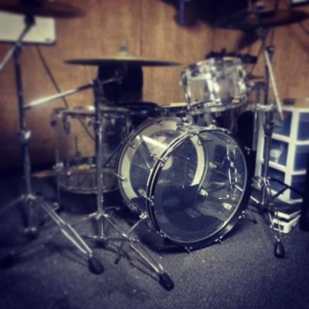 Ian Parker kit practice space