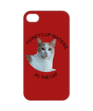 pc the cat phone case