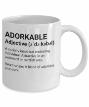 adorkable mug definition