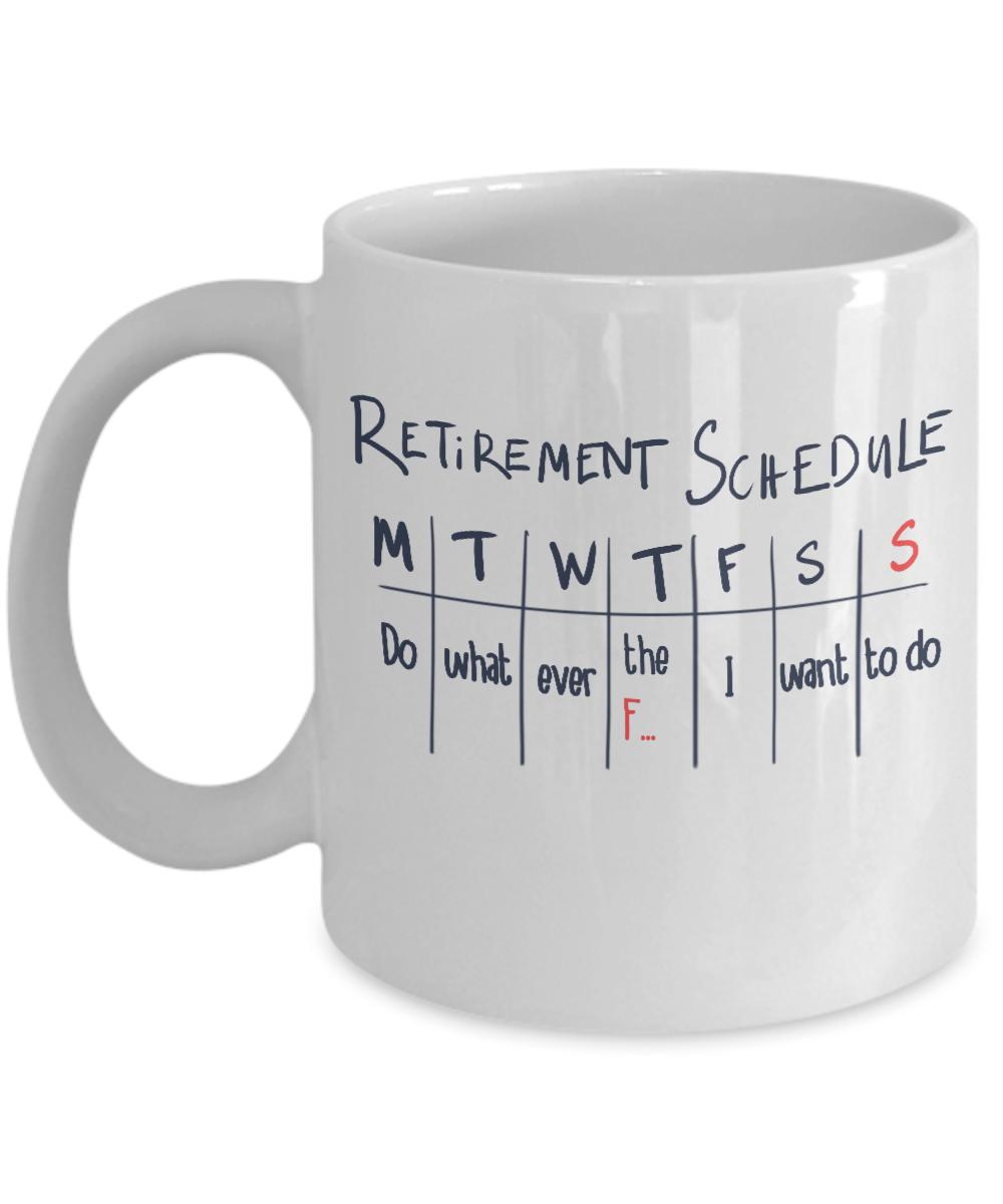 personalized retirement mug funny