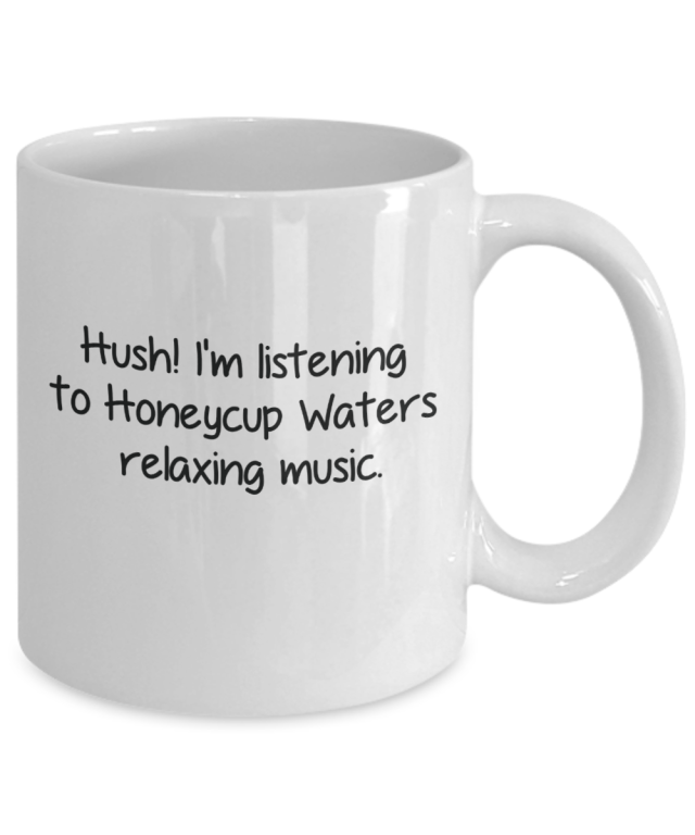 hush mug from honeycup waters