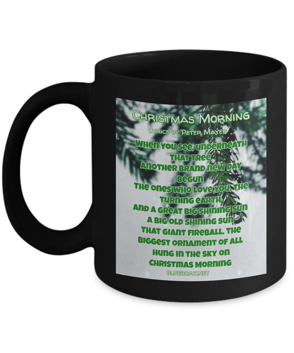 I Like Coffee And I Like Tea Lyrics : coffee, lyrics, Christmas, Morning, Lyrics, Peter, Mayer, Black, Ceramic, Coffee