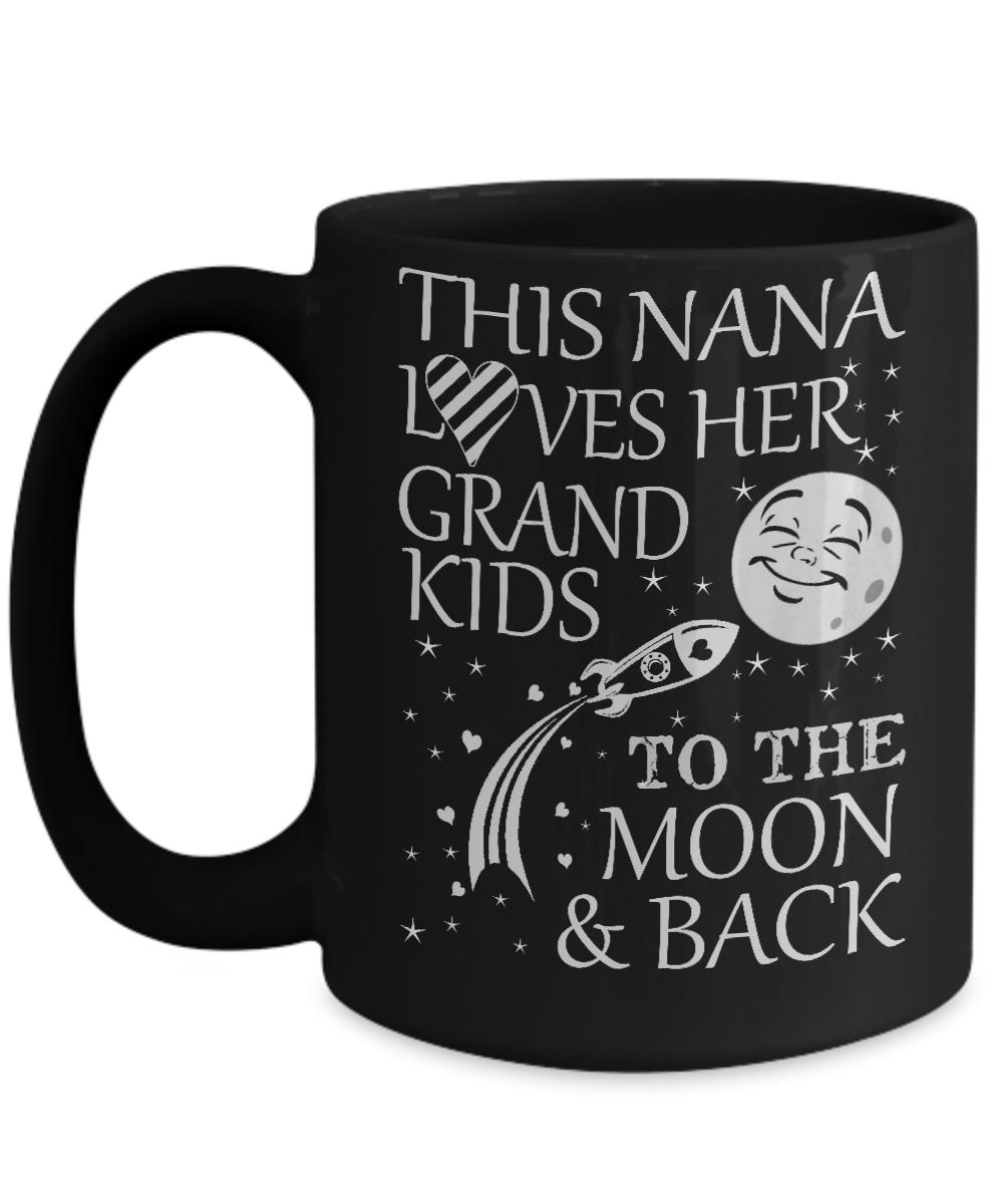 Moon You And Back Loves Nana