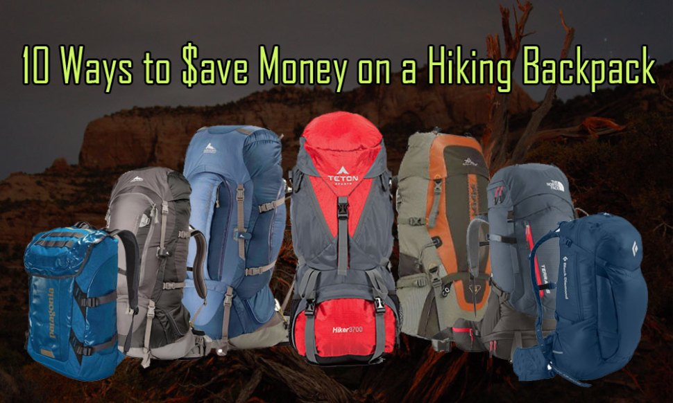 10 Ways to Save Money on Backpacks