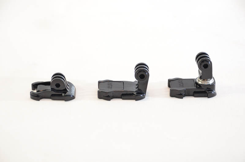 GoPro Session Mounts Compaired