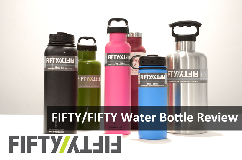 Fifty Fifty Water Bottle Featured Image