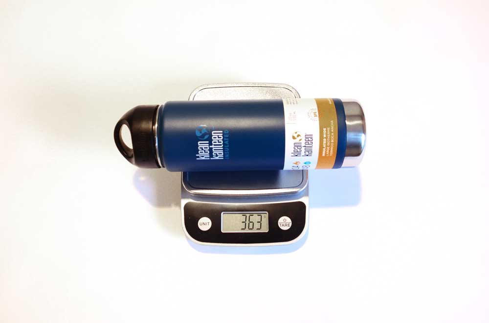 Klean Kanteen - Weight