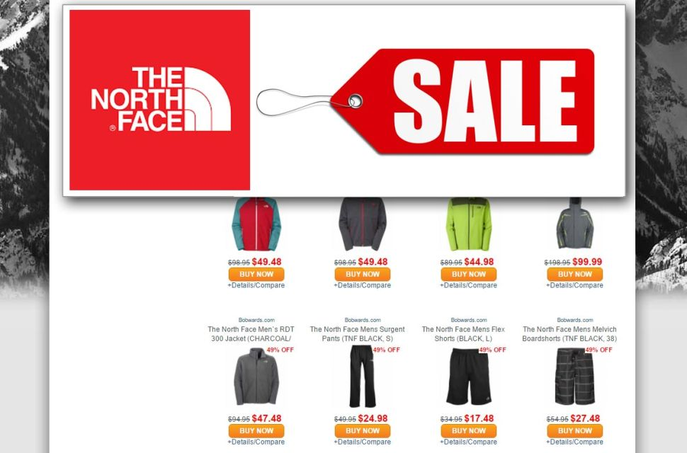 NorthFace-Sale