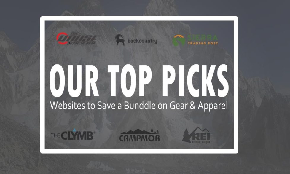 Best Website To Save Money on Outdoor Gear