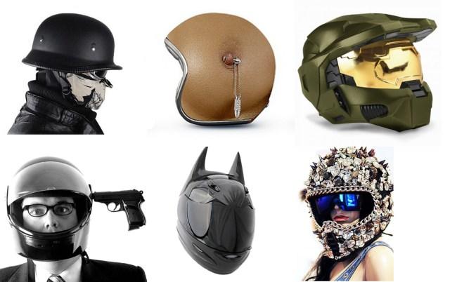 Weird-Helmets