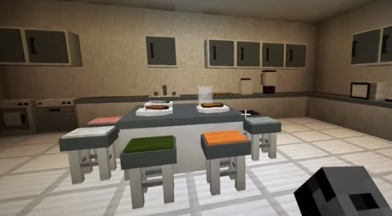 Latest Minecraft Kitchen Mod Just Came Out
