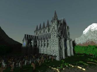 minecraft church build cathedral dead awesome showcase gearcraft taylor january