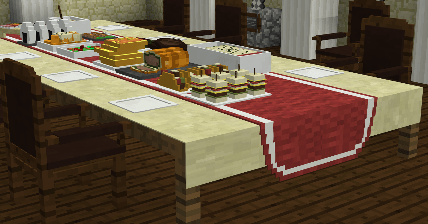 Enjoy a Dinner Party with these awesome Minecraft Custom