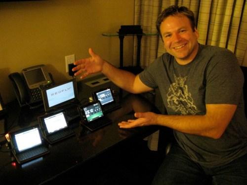 Unboxing the HTC Advantage 7510