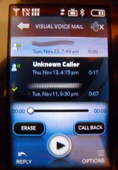 Visual Voice Mail