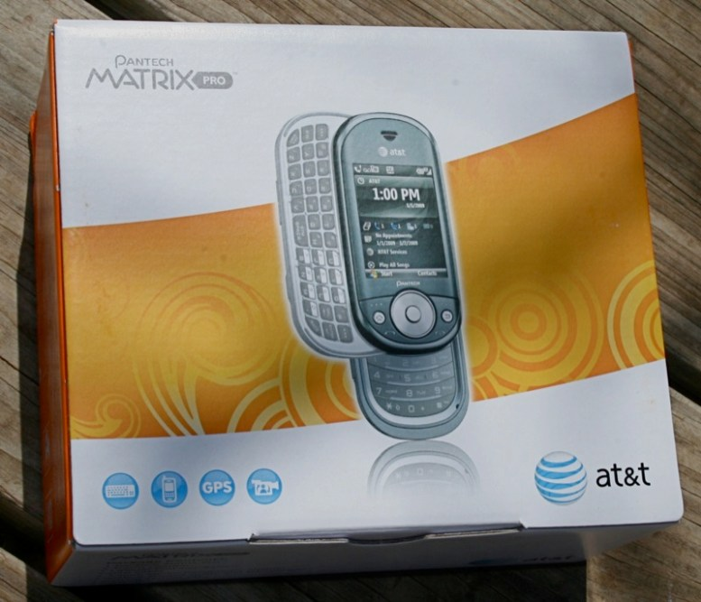 First Impressions of the AT&T Pantech Matrix Pro