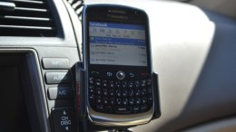 ProClip for BlackBerry 8900 - easy to install, easy to upgrade, no gooey mess