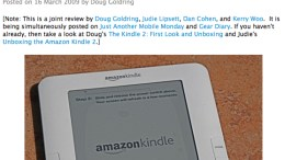 Two Cases from TrendyDigital for Amazon Kindle2 Review