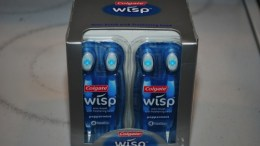 Colgate Wisp - brush and freshen your teeth while on the go